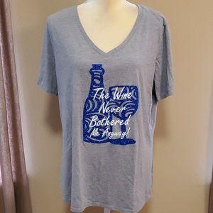 Faded Glory custom tee shirt size 2X (18W-20W)